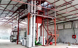 3-5T/H powder feed and grass pelletizing plant for cattle sheep