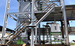 5T/H sinking fish feed pellet production plant