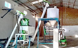 1T/H floating fish and 1-2T/H cattle extruded feed line