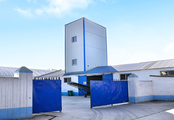 3-5T/H Poultry Feed Production Line In Uzbekistan
