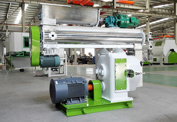 Samarkand 3-5T/H Ring Die Poultry Feed Granulator Project