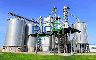 1-100T/H CE Complete Animal Feed Manufacturing Plant Production Process